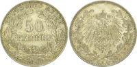50 Pfennig 1898  A Kleinmünzen  Schöne Patina. Vorzüglich - Stempelglan... 385,00 EUR  plus 5,00 EUR verzending