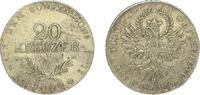 20 Kreuzer 1809 Haus Habsburg Franz II.(I.) 1792-1835. Etwas korrodiert... 95,00 EUR  plus 5,00 EUR verzending