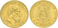 5 Mark Gold 1877  F Württemberg Karl 1864-1891. Vorzüglich - Stempelgla... 750,00 EUR  plus 5,00 EUR verzending