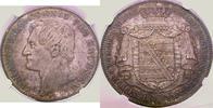 NGC certified Doppeltaler 1855  F Sachsen-Albertinische Linie Johann 18... 675,00 EUR  plus 5,00 EUR verzending