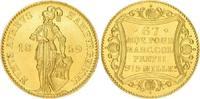 Dukat Gold 1859 Hamburg, Stadt  Vorzüglich - Stempelglanz