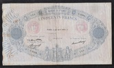 500 FRANCS 23.04.1936 FRANCE  BLEU et ROSE...
