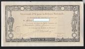 (70 FRANCS) 28.11.1917 FRANCE  VERSEMENT D...