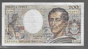 200 Francs 1985 FRANCE  MONTESQUIEU Type 1...