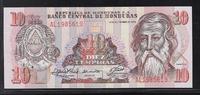 10 Lempiras 21.9.1989 HONDURAS  Série AL  ...