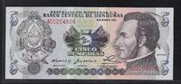 5 Lempiras 8.5.1980 HONDURAS  Série AC  Qu...