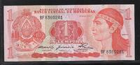 1 Lempira 29.5.1980 HONDURAS  Série BF  Qu...