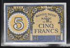5 Francs 14.9.1943 MAROC  Série C.890 N° 0...