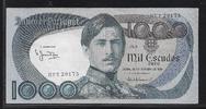 1000 Escudos 26.10.1982 PORTUGAL  Série HV...