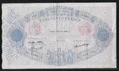 500 FRANCS 06.08.1936 FRANCE  BLEU et ROSE...