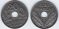 20 Centimes 1944 FRANCE *QUALITE EXEPTIONN...