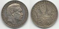 Médaille argent 1927 Weimar Hindenburg SUP