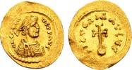 Heraclius 610-641, Gold Semissis (17x19...