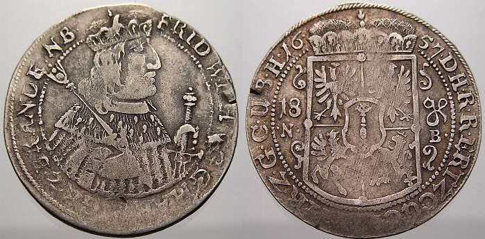 18 Gröscher Ort 1657 Nb Brandenburg Preußen Friedrich Wilhelm Der