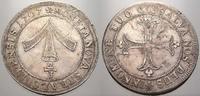 2/3 Taler 1707 Pommern-Stralsund, Stadt St...