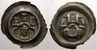 Halberstadt, Bistum Brakteat Anonym, vor 1300.