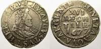 1/16 Taler (Doppelschilling) 1677 Braunsch...