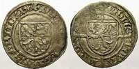 1/2 Bayerngroschen 1419-1425 Luxemburg Joh...