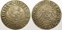 Groschen 1534 Preußen, Herzogtum (Ostpreuß...