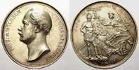 Silbermedaille 1857 Brandenburg-Preußen Wi...