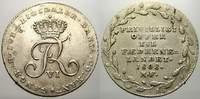 1/6 Reichstaler 1808 Schleswig-Holstein, K...
