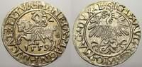 Halbgroschen 1559 Polen-Litauen Sigismund ...