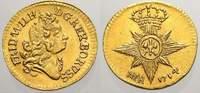 1/4 Dukat 1714 Brandenburg-Preußen Friedri...