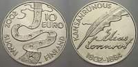10 Euro 2002 Finnland  Stempelglanz