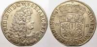 2/3 Taler 1691  WH Brandenburg-Preußen Fri...