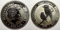 1 Dollar (Kookaburra) 1999 Australien Eliz...
