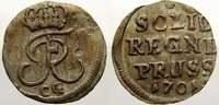 Schilling 1701  CG Brandenburg-Preußen Fri...