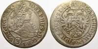 3 Kreuzer 1706  F Schlesien-Der oberste Le...
