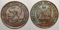 Bronzemedaille 1870 Frankreich Napoleon II...