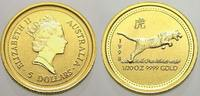 5 Dollars (Lunar, Tiger) 1998  K Australie...