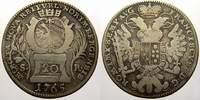 20 Kreuzer 1765 Nürnberg, Stadt  Sehr schön