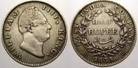 1/2 Rupee 1835 Indien-British Indien Willi...