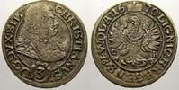 3 Kreuzer 1670  CB Schlesien-Liegnitz-Brie...