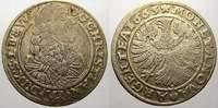 3 Kreuzer 1665 Schlesien-Liegnitz-Brieg Ch...