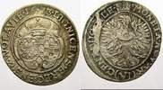 6 Kreuzer 1673  C Schlesien-Liegnitz-Brieg...