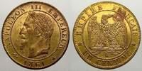Un Decime 1861  A Frankreich Napoleon III....