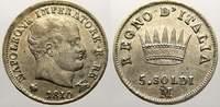 5 Soldi 1810  M Italien-Königreich Napoleo...