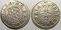 2 Kreuzer (Halbbatzen) 1623-1651 Bayern Ma...