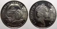 50 Dollars 1989 Cook-Inseln Elizabeth II. seit 1952. Polierte Platte, l... 25,00 EUR  +  5,00 EUR shipping