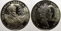 50 Dollars 1990 Cook-Inseln Elizabeth II. seit 1952. Polierte Platte, m... 23,00 EUR  +  5,00 EUR shipping