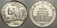 10 Yuan (Panda) 1997 China Volksrepublik seit 1955. Stempelglanz  75,00 EUR  +  5,00 EUR shipping