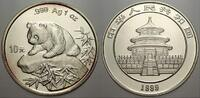 10 Yuan (Panda) 1999 China Volksrepublik s...