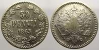 50 Penniä 1 1865  S Russland Zar Alexander...