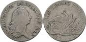 Reichstaler preussisch 1772 E, Diverse Friedrich II. der Grosse, 1740-1786 Sehr schön