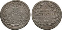 Silberabschlag von den Stempeln des Duka 1...