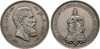 Medaille 1888, auf s Brandenburg Friedrich...